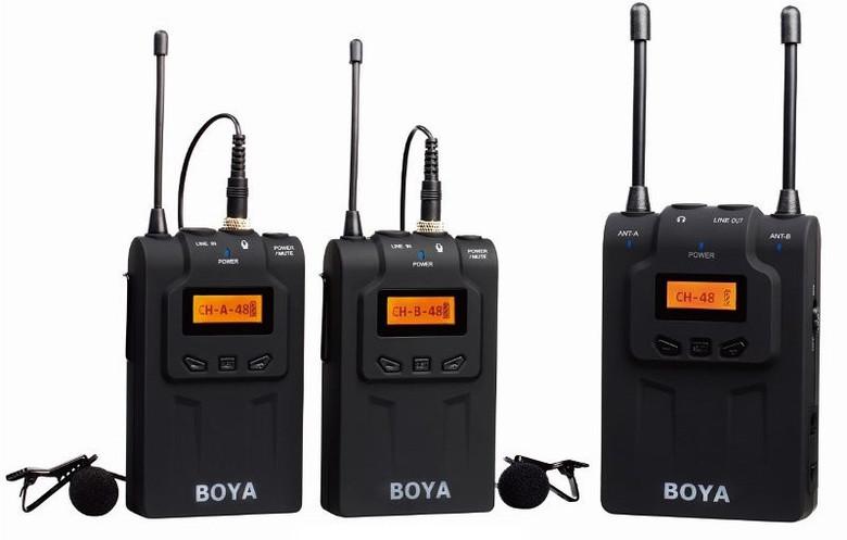 Бездротова мікрофонна система (конденсаторний) BOYA BY-WM8