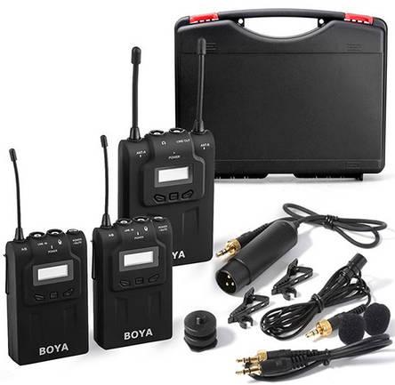 Бездротова мікрофонна система (конденсаторний) BOYA BY-WM8, фото 2