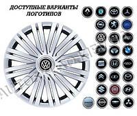 """Колпаки SJS (Турция), 14"""" 200 (к-т 4 шт) + эмблема на выбор"""