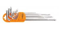 Набор ключей Torx с отверстием NEO 09-526