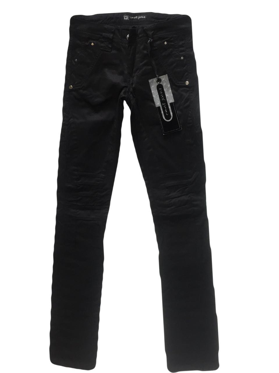 4125e642c51 Стрейчевые чёрные джинсы Омат 9570 - Интернет-магазин Myjeans в Одессе