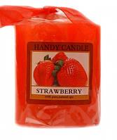 Свеча ароматическая Strawberry клубника
