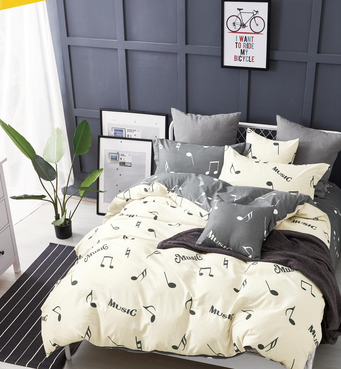 Комплект постельного белья из натурального сатина Мелодия
