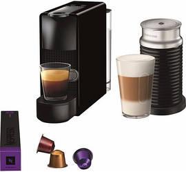 Кофемашина капсульная Nespresso Essenza Mini C30 Black + Капучинатор Nespresso Aeroccino 3