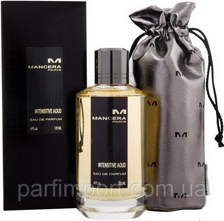 MANСERA BLACK INTENSITIVE AOUD EDP 120 ml  парфюм унисекс (оригинал подлинник  Франция)