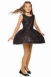 Маленькое черное платье в классическом стиле для девочки 140-156р, фото 5