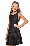 Маленькое черное платье в классическом стиле для девочки 140-156р, фото 2