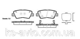 Гальмівні колодки задні SP1239
