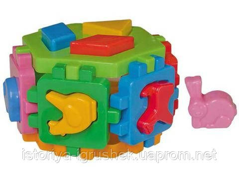 Сортер Куб Умный малыш 1981 Гексагон-1