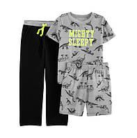 Пижама Carters 3-ка Дино 10Т,12Т