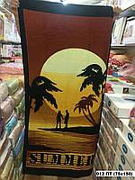 Пляжное - банное полотенце полнолуние
