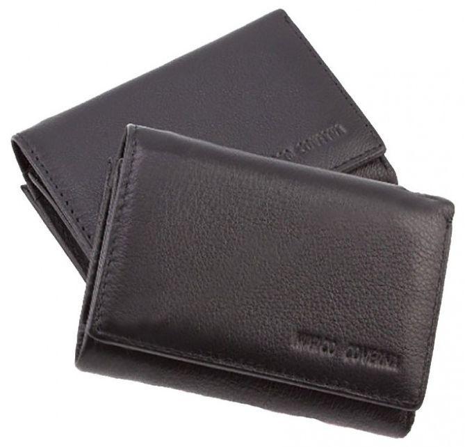 1d98f09932a0 Женский кошелек кожаный HORTON TRW-8580A-A, черный — только ...