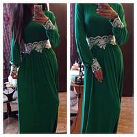 Элегантное платье с кружевной отделкой.АР (Арт. 189)