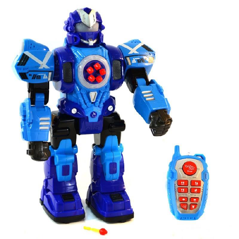 Іграшка на радіокеруванні QINHON Robot Fighting іграшковий бойовий робот на р/к Синій (SUN2968)