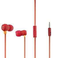 Наушники с микрофоном Adidas PW-25 Красные (34920)