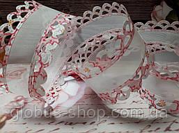 """Лента капрон  """"Розочка"""" 4.0   см , цвет розовый"""