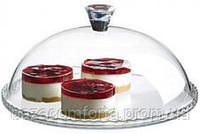 Блюдо Patisserie Ø32см с бортом и со стеклянной крышкой-колпаком (95198), фото 2