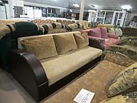 Диван-еврокнижка б/у, прямой диван б/у, фото 1