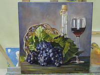 """Картина """"Натюрморт с виноградом"""", фото 1"""