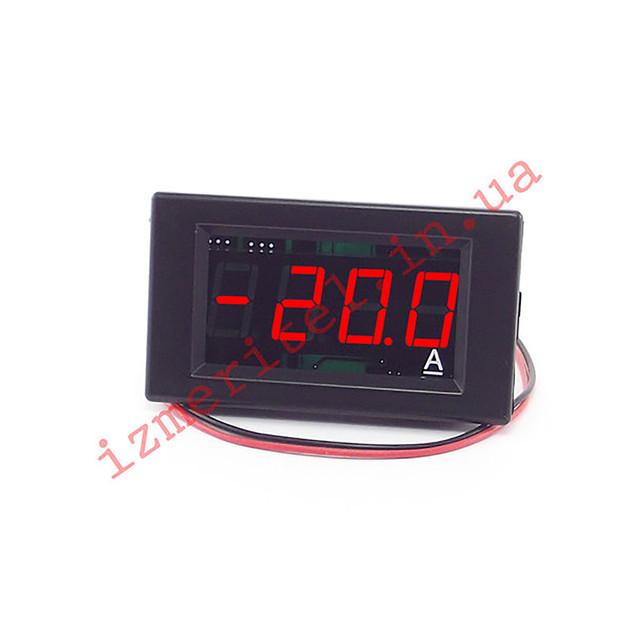 Двунаправленный цифровой амперметр постоянного тока 20А