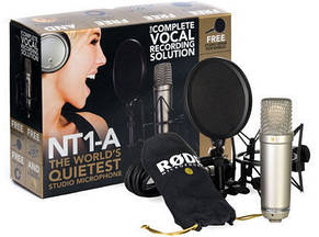 Мікрофон студійний конденсаторний Rode NT1-A Kit, фото 3