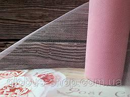Фатин красный, розовый
