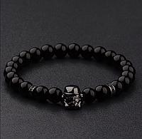 Мужской каменный браслет mod.Stormtrooper black, фото 1