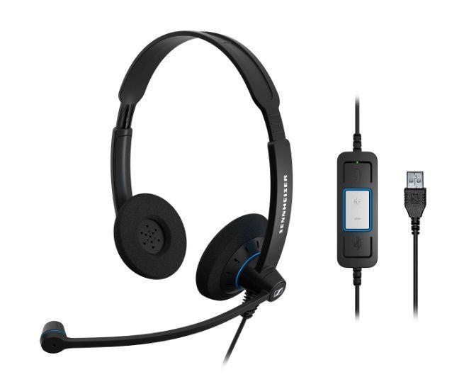 Гарнитура для колл-центра Sennheiser SC 60 USB CTRL