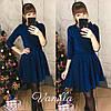 Платье / люрекс на дайвинге / Украина 48-012