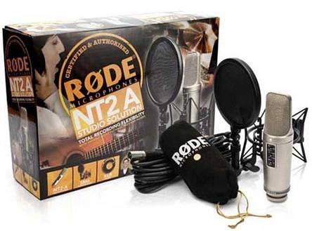 Мікрофон студійний конденсаторний Rode NT2-A, фото 2