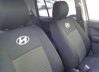 Чехлы на сиденья Форд Коннект (Ford Connect) (универсальные, автоткань, с отдельным подголовником)