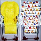 Двухсторонний чехол на стульчик для кормления Chicco Polly, фото 6