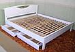 """Кровать """"Фантазия"""". Массив - сосна, ольха, береза, дуб, фото 4"""