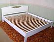 """Кровать полуторная из массива дерева """"Фантазия"""" от производителя, фото 4"""
