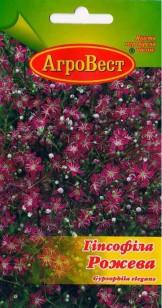 Цветы Гипсофила розовая 0,5 г (АгроВест)