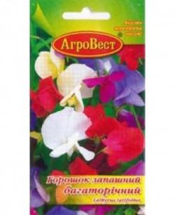 Цветы Горошек душистый многолетний 0,5 г (АгроВест)