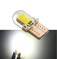 Лампа автомобільна світлодіодна ZIRY T10 w5w, біла, фото 1
