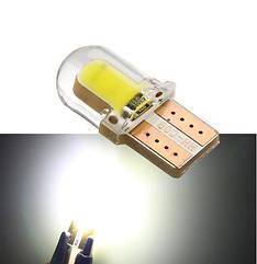 Лампа автомобильная светодиодная ZIRY T10 w5w, белая