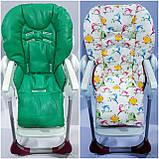 Двухсторонний чехол на стульчик для кормления Chicco Polly, фото 4