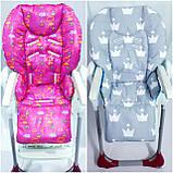 Двухсторонний чехол на стульчик для кормления Chicco Polly, фото 7