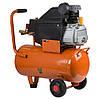 Компресор одноциліндровий 1.5 кВт 198л/хв 8бар 24л (2 крана) Grad (7043535), фото 3