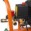 Компресор одноциліндровий 1.5 кВт 198л/хв 8бар 24л (2 крана) Grad (7043535), фото 6
