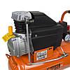 Компресор одноциліндровий 1.5 кВт 198л/хв 8бар 24л (2 крана) Grad (7043535), фото 8