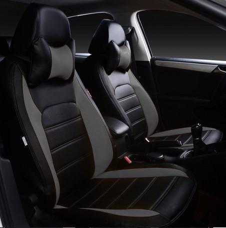 Чехлы на сиденья Форд Фокус 3 (Ford Focus 3) (модельные, НЕО Х, отдельный подголовник)
