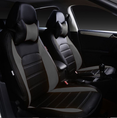 Чохли на сидіння Форд Фокус 3 (Ford Focus 3) (модельні, НЕО Х, окремий підголовник)