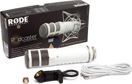 Мікрофон студійний конденсаторний Rode Podcaster, фото 2
