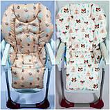 Двухсторонний чехол на стульчик для кормления Chicco Polly, фото 8