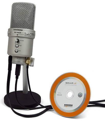 Мікрофон студійний конденсаторний Samson GTrack, фото 2