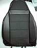 Чехлы на сиденья Форд Эскорт (Ford Escort) (универсальные, кожзам+автоткань, пилот), фото 2