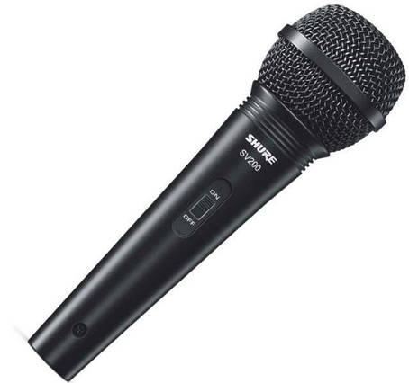 Мікрофон вокальний динамічний Shure SV200, фото 2